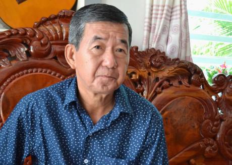 Nhạc sĩ Lâm Thanh Bình.